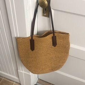 Jcrew beach bag